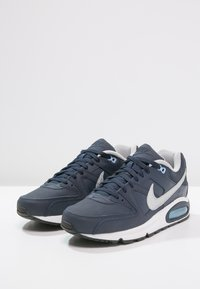 Nike Sportswear - AIR MAX COMMAND - Sneakers - obsidian/metallic silver/bluecap/white/black - 2