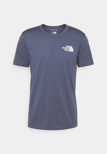 HIMALAYAN BOTTLE SOURCE TEE - Print T-shirt - vintage indigo