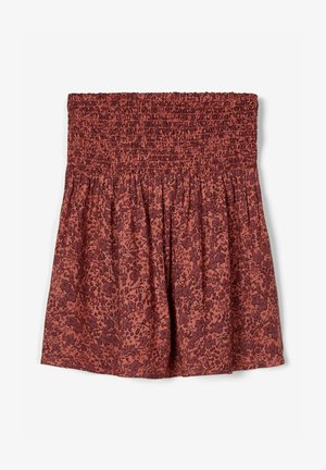 A-line skirt - withered rose