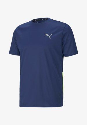FAVOURITE - Print T-shirt - elektro blue-yellow alert