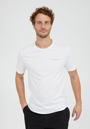 JAAMES STATEMENT - T-shirt print - white