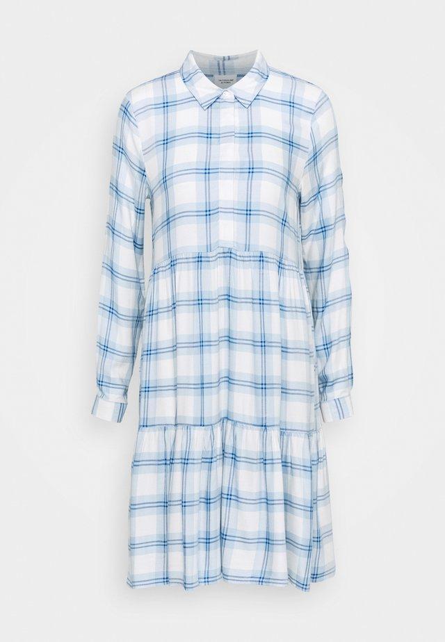 JDYSTAY BELOWKNEE SHIRT DRESS - Shirt dress - cashmere blue