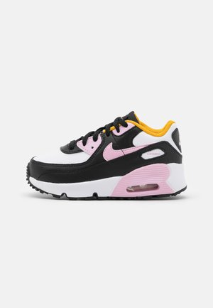 AIR MAX 90 UNISEX - Sneaker low - black/light arctic pink/white/dark sulfur
