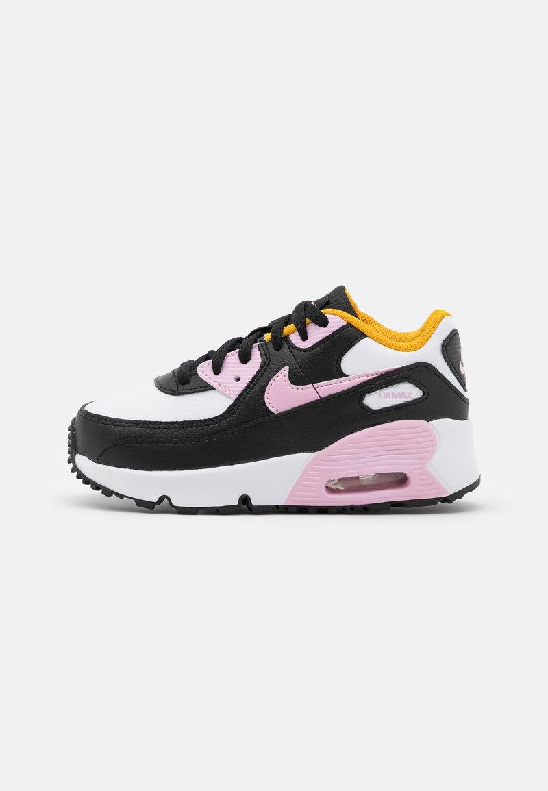 Nike Sportswear - AIR MAX 90 UNISEX - Tenisky - black/light arctic pink/white/dark sulfur