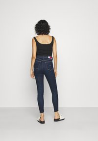 Tommy Jeans - MELANY UHR ANKLE - Jeans Skinny Fit - fjord - 2