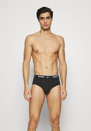 BRIEF 2 PACK - Alushousut - black
