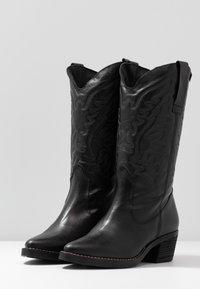 mtng - TEO - Cowboy/Biker boots - black - 4