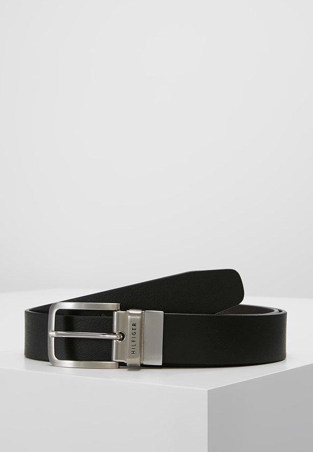 LOOP BELT - Formální pásek - black