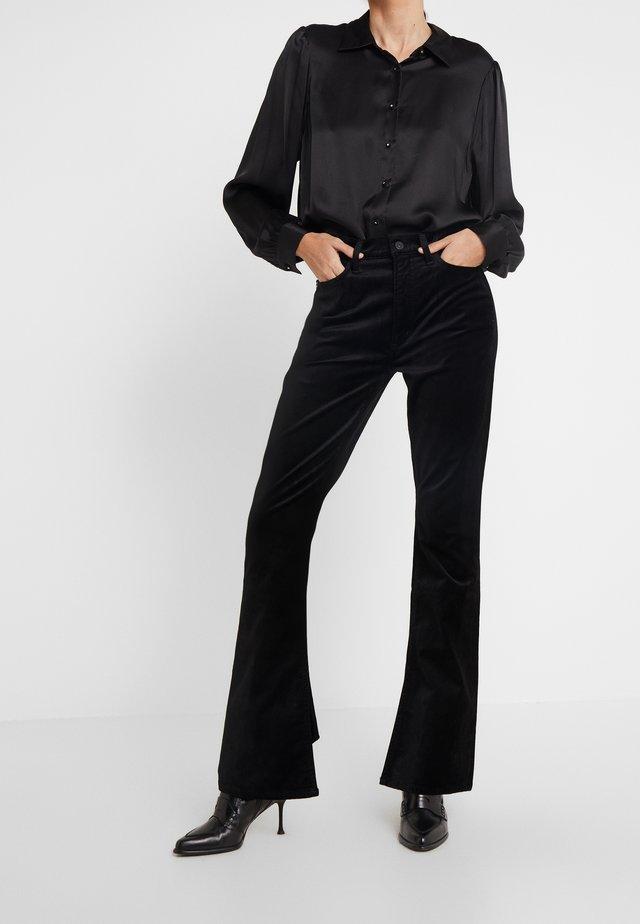 GEORGIA HIGH RISE  - Kalhoty - black