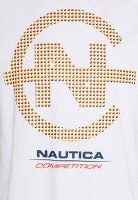 NAUTICA COMPETITION - BINNACLE - Print T-shirt - white - 2
