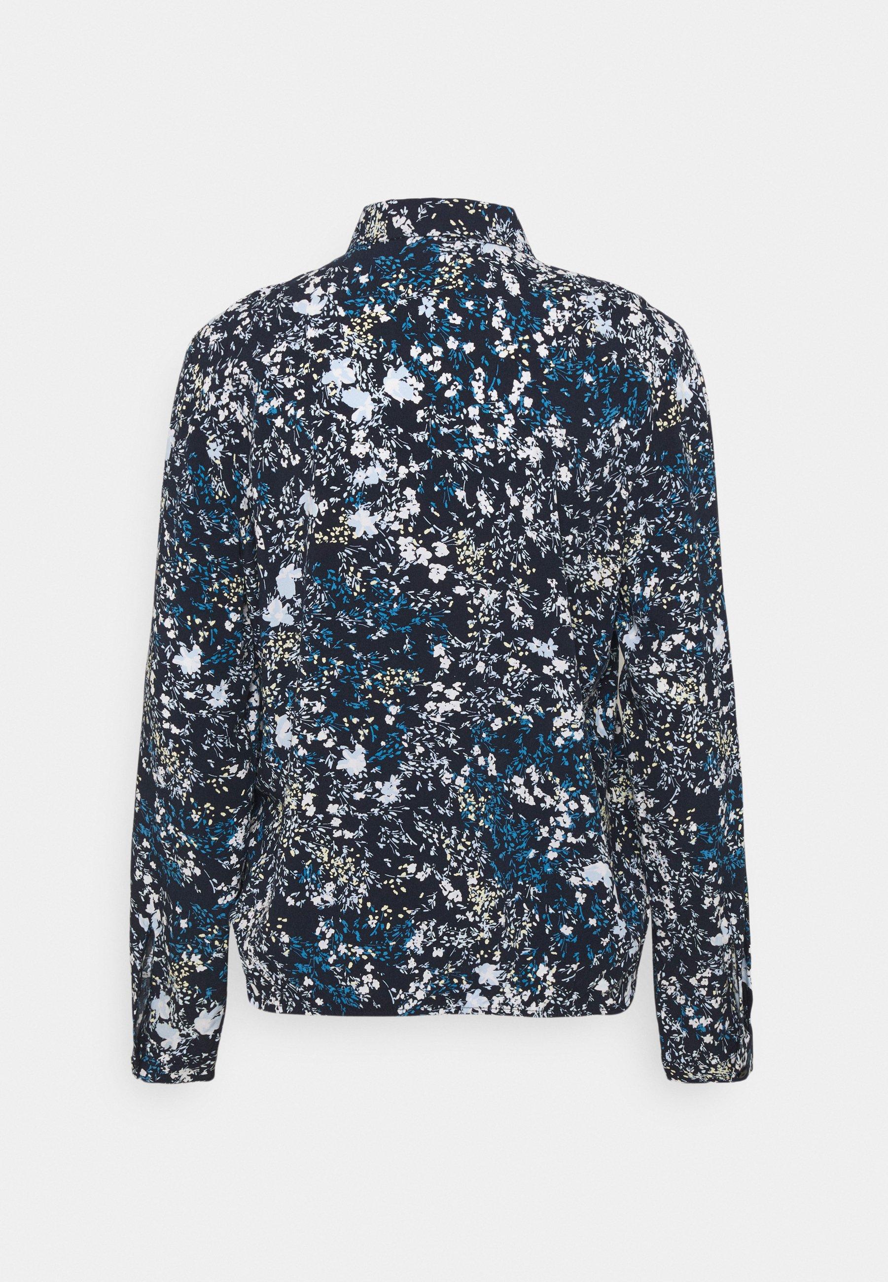 Women BLOUSE PRINTED - Button-down blouse