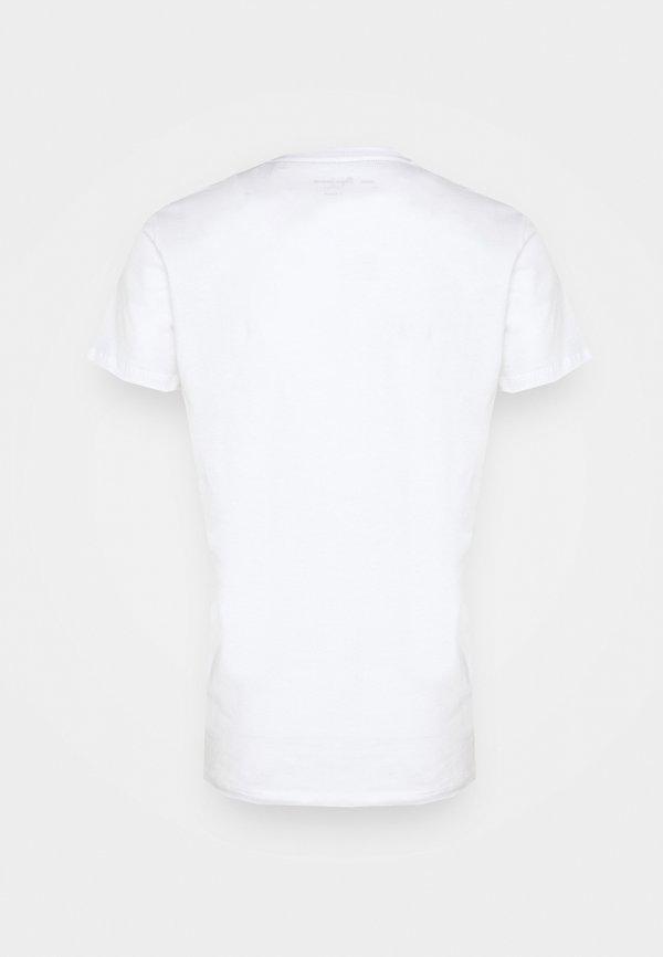 Pepe Jeans EGGO V - T-shirt z nadrukiem - white/biały Odzież Męska ZWPW