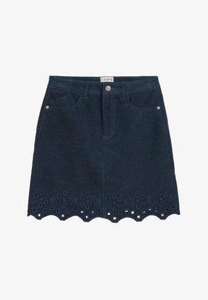 VELVET - Denim skirt - marine blue