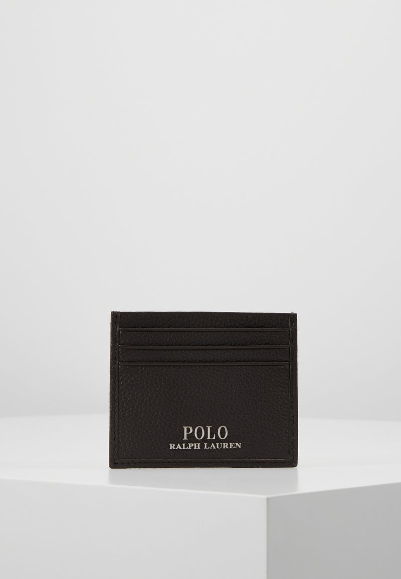 Polo Ralph Lauren - LOGO CARD CASE - Business card holder - dark brown
