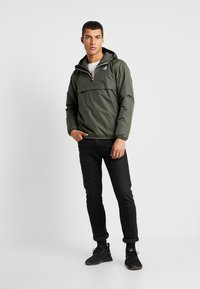 K-Way - LEON PADDED - Light jacket - black torba - 1