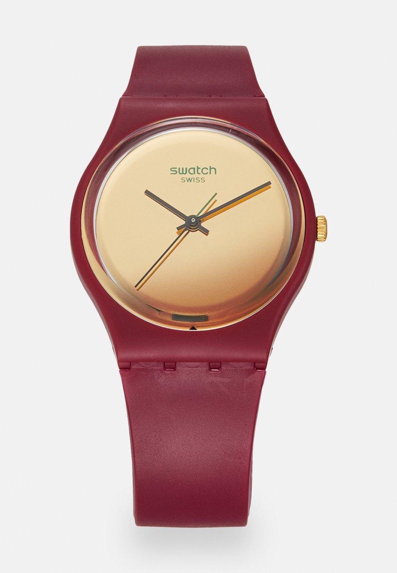 Swatch - GOLDENSHIJIAN - Zegarek - burgundy