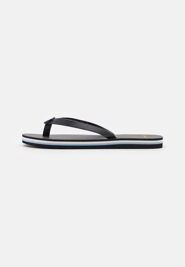 MINI MINNIE - T-bar sandals - navy