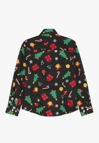 OppoSuits - KIDS CHRISTMAS ICONS - Shirt - black - 1