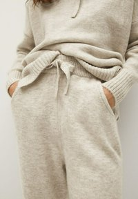 Mango - COSY-I - Pantalon de survêtement - grey - 4