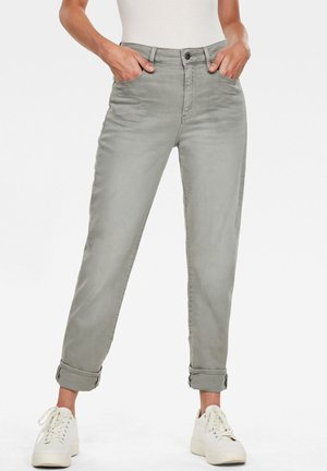 3301 HIGH STRAIGHT 90'S ANKLE - Slim fit jeans - earthcolors dk magnesium