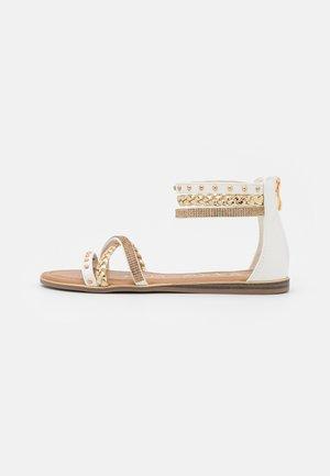 Sandaler - medusa bianco/platino