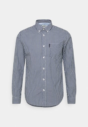 SIGNATURE GINGHAM - Shirt - dark blue
