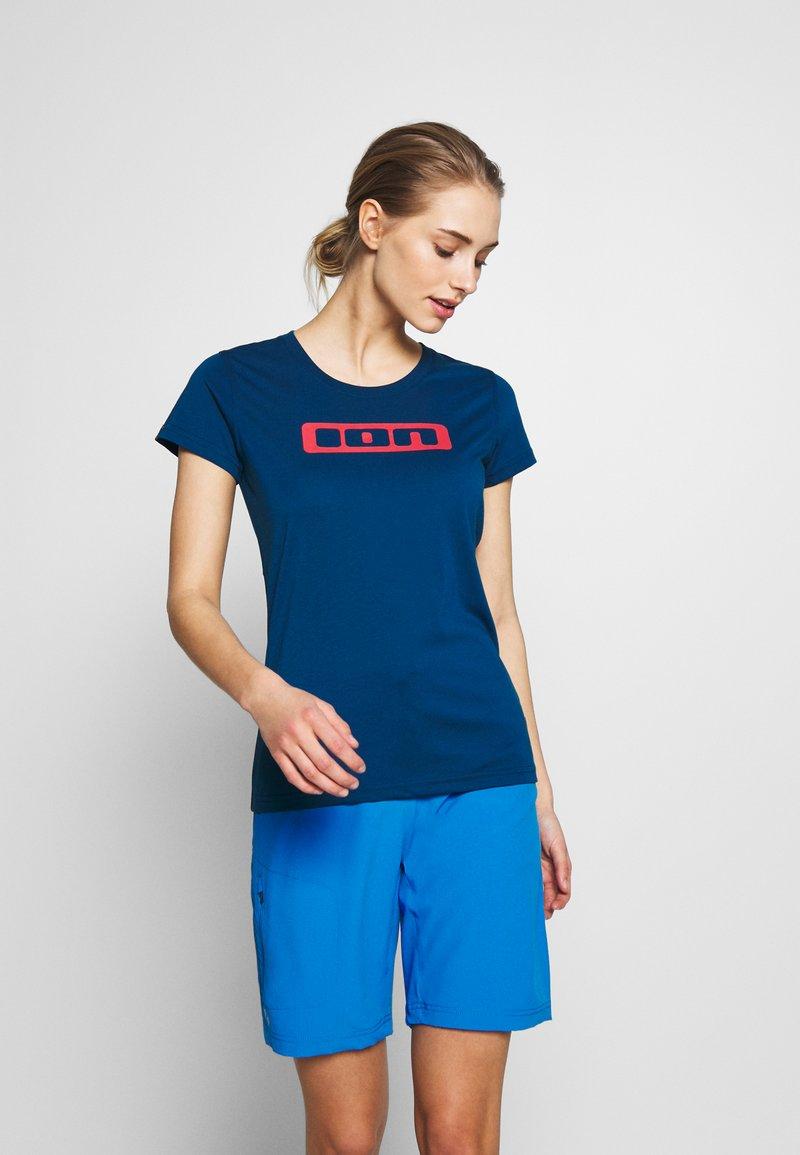 ION - TEE SEEK - T-Shirt print - ocean blue