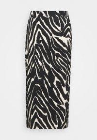 Monki - DOLLY SKIRT - Pencil skirt - zebra - 3