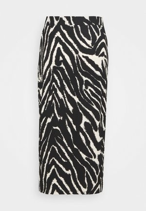 DOLLY SKIRT - Pencil skirt - zebra