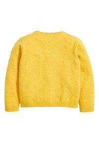 Next - BOBBLE CARDIGAN (3MTHS-7YRS) - Cardigan - yellow - 1