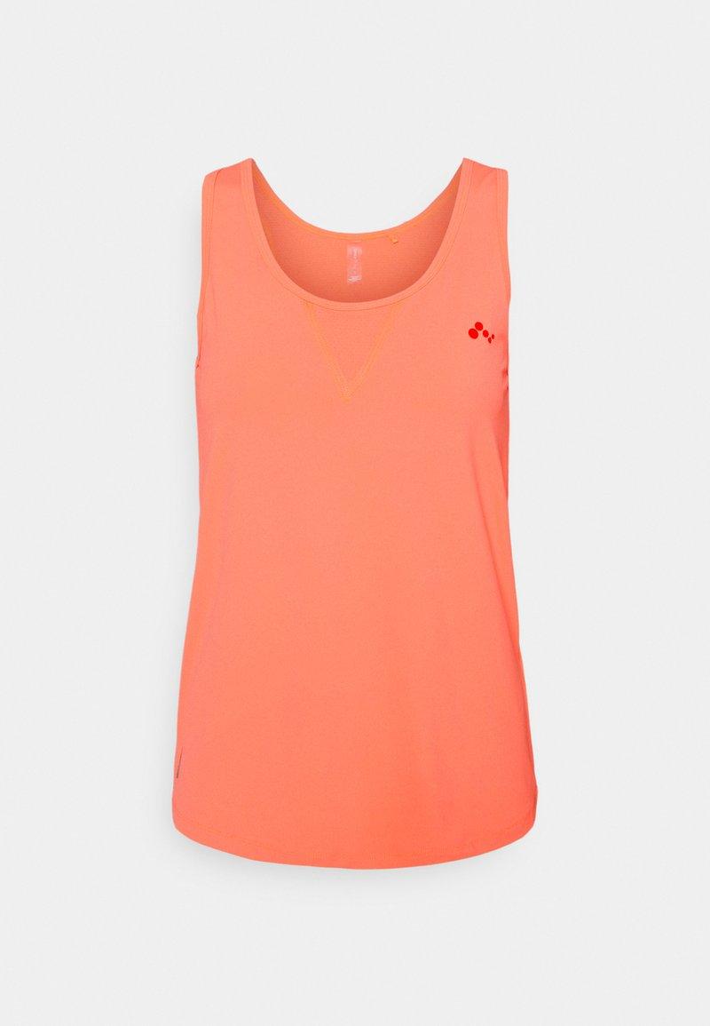 ONLY Play - ONPFONTANNE TRAIN  - Sportshirt - neon orange/fiesta