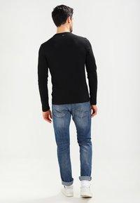 Napapijri - SENOS LS - Long sleeved top - black - 2