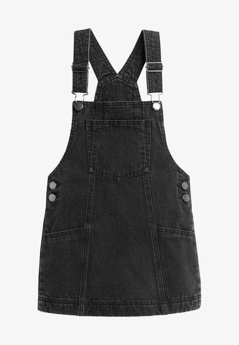 Next - Denim dress - black denim