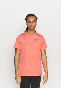 Nike Performance - DRY SUPERSET - T-shirt - bas - magic ember/black - 0