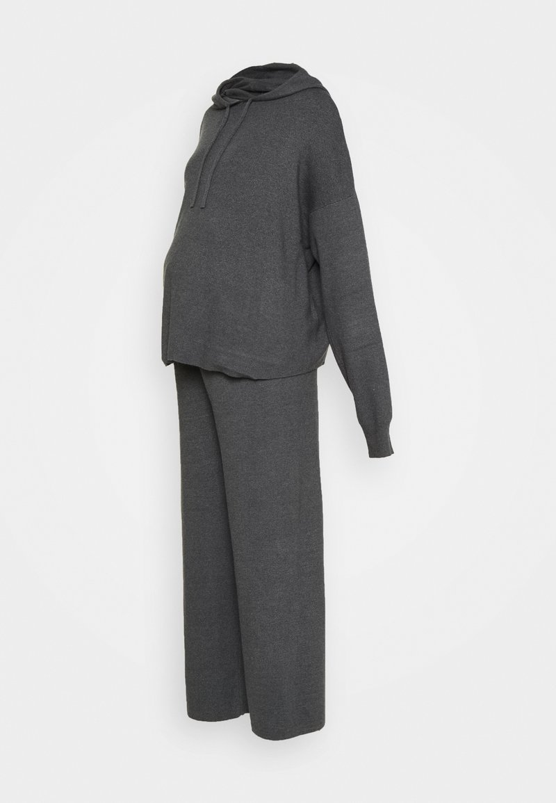 Anna Field MAMA - SET - Jumper - dark grey