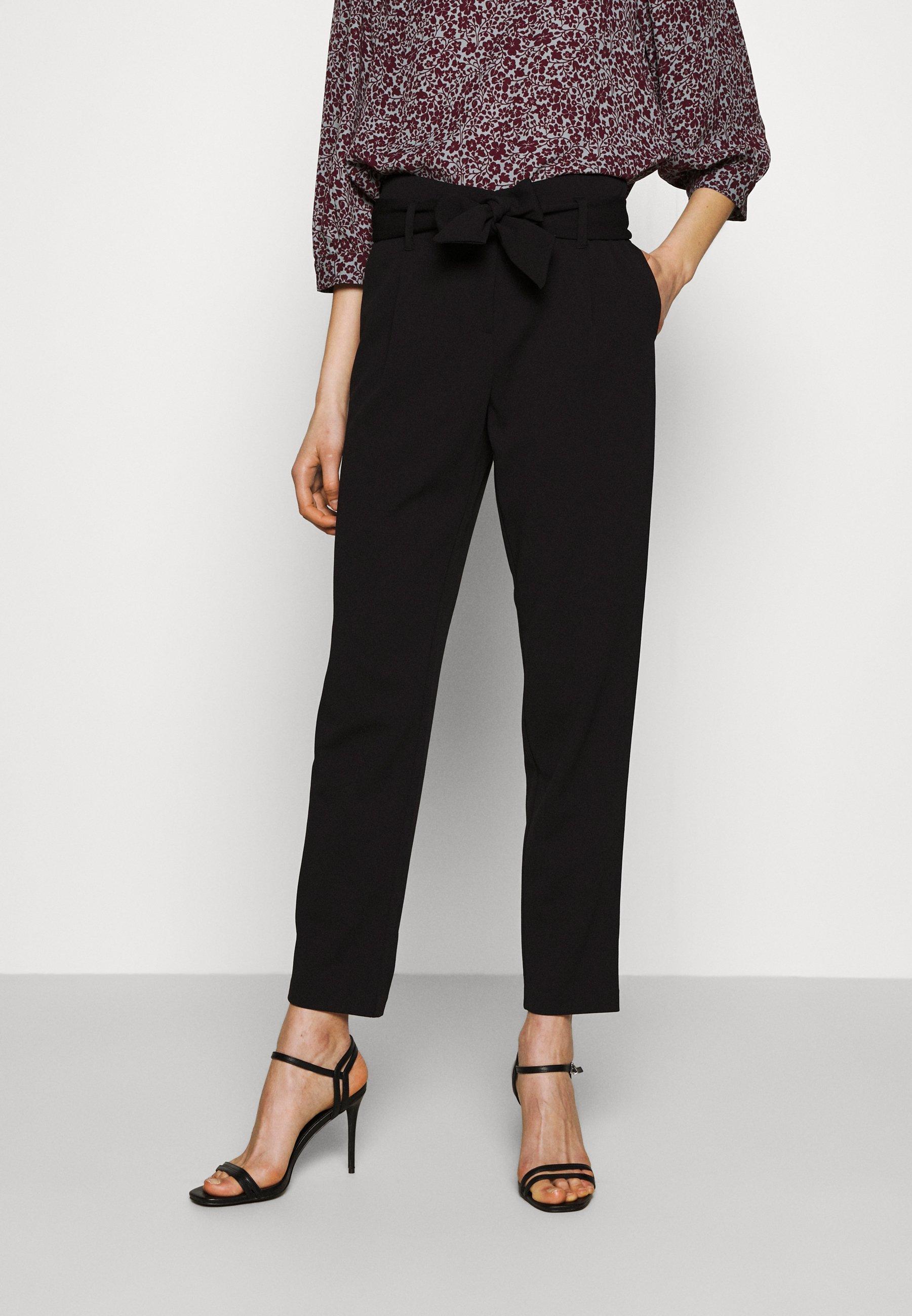 Femme ONLCAROLINA BELT PANTS - Pantalon classique
