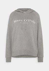 Marc O'Polo - RAGLAN SLEEVE HOODED - Hoodie - medium grey melange - 0