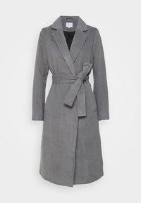 VIPOKU COAT - Classic coat - medium grey melange