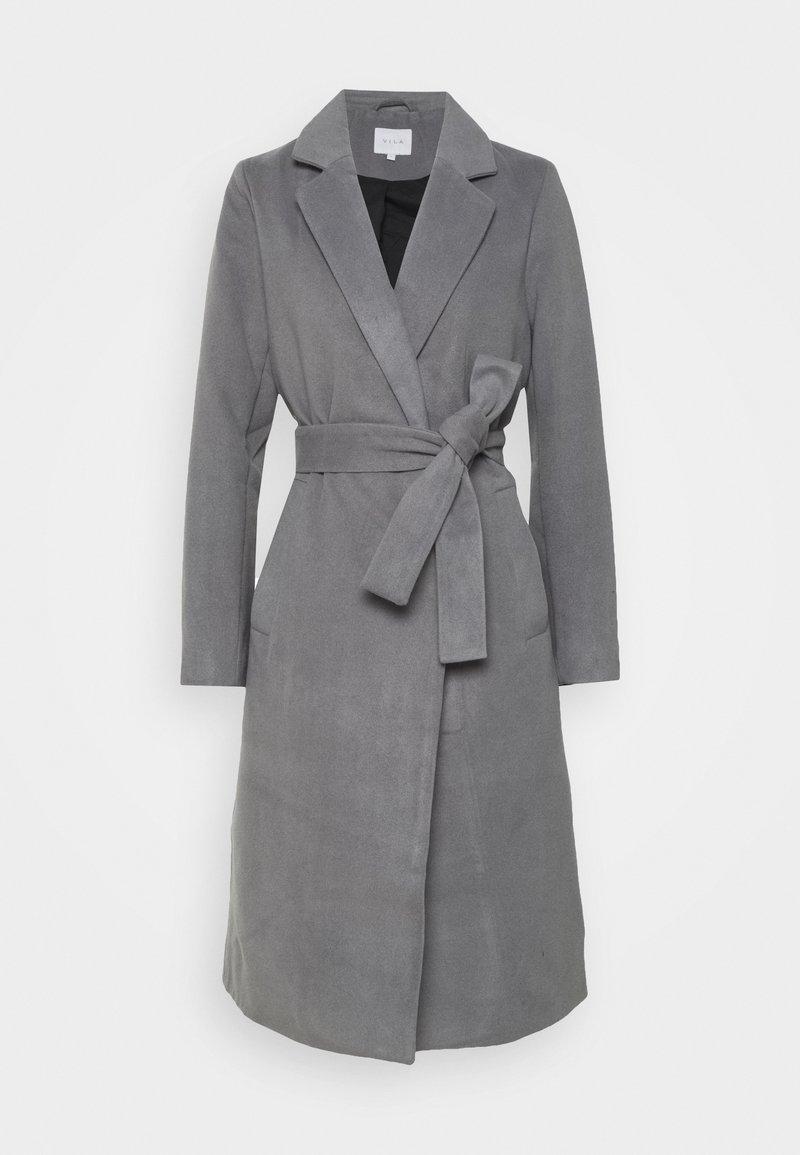 Vila - VIPOKU COAT - Klasický kabát - medium grey melange