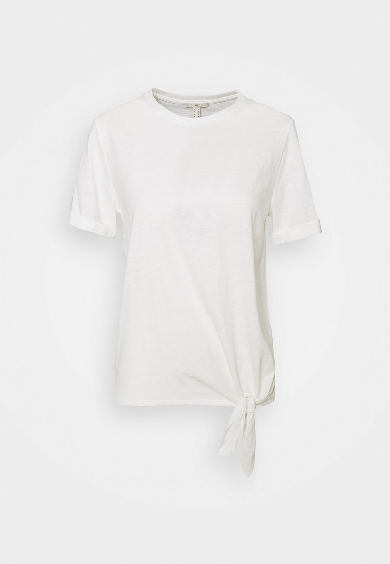 edc by Esprit - TIE TEE - T-shirts med print - off white