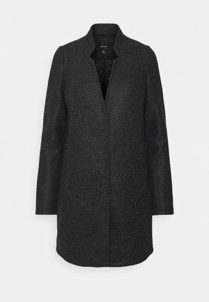 Kort kåpe / frakk - dark grey melange