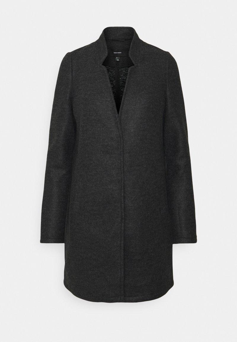 Vero Moda - Short coat - dark grey melange