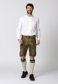 Stockerpoint - MICHEL - Shorts - brown - 1