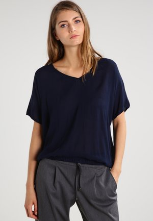 AMBER LO BLOUSE - Blouse - midnight marine