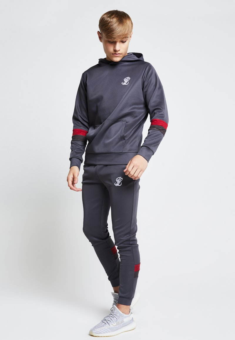 SIKSILK - LONDON JUNIORS - Hoodie - grey /pink