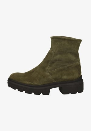 Kotníkové boty na platformě - pine 398
