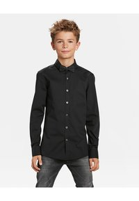 WE Fashion - JONGENS - Shirt - black - 1