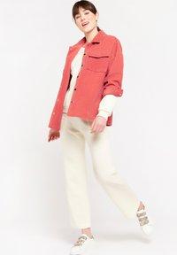 LolaLiza - Button-down blouse - fuchsia - 3