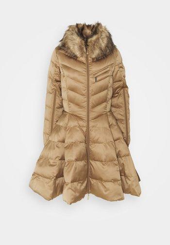WOMENS PADDED JACKET - Winter coat - tortora