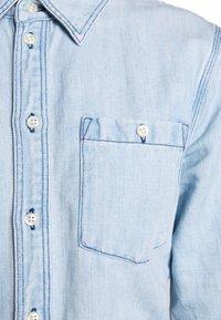 Polo Ralph Lauren - LONG SLEEVE CASUAL DRESS - Vestido vaquero - light indigo - 6